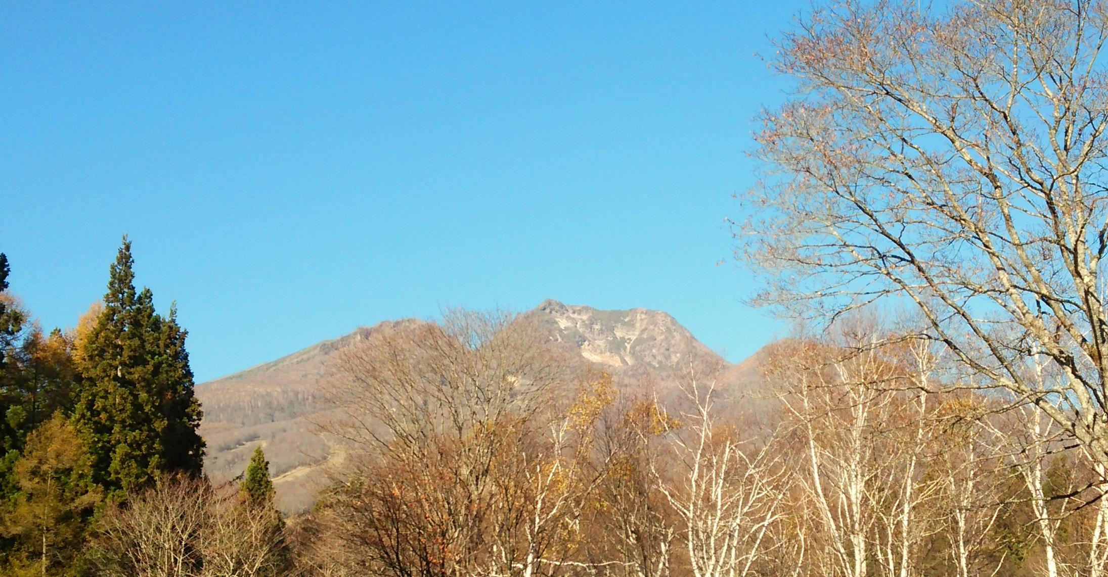11月5日の妙高山