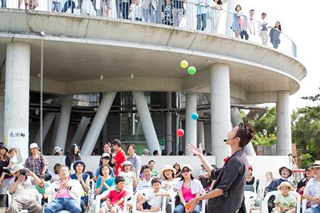 湘南江の島大道芸 ※写真提供 藤沢市観光協会