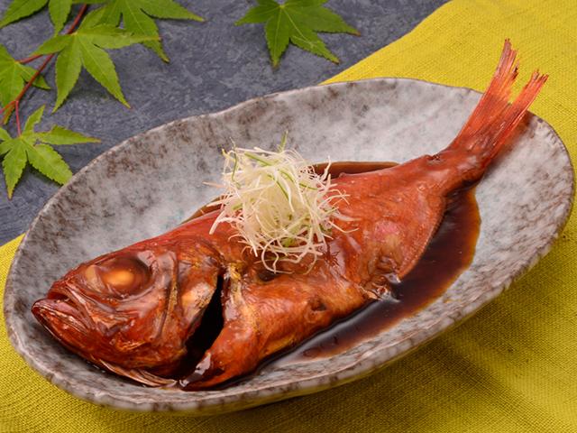 画像:金目鯛の煮付け
