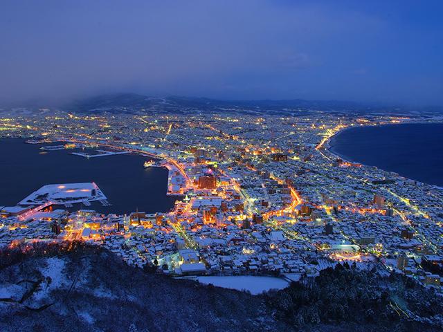 画像:函館山夜景