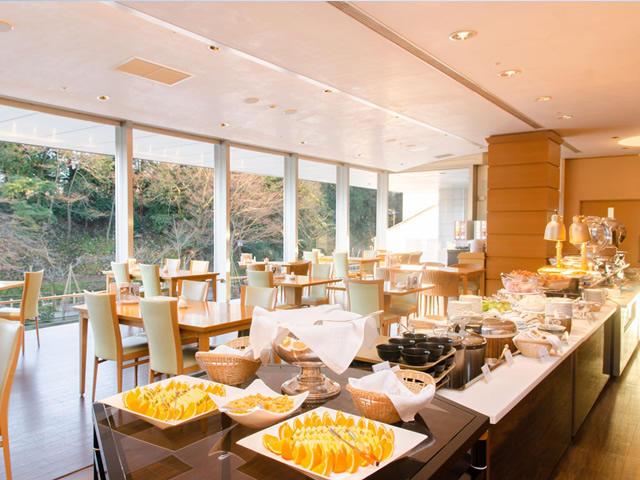 画像:朝食会場