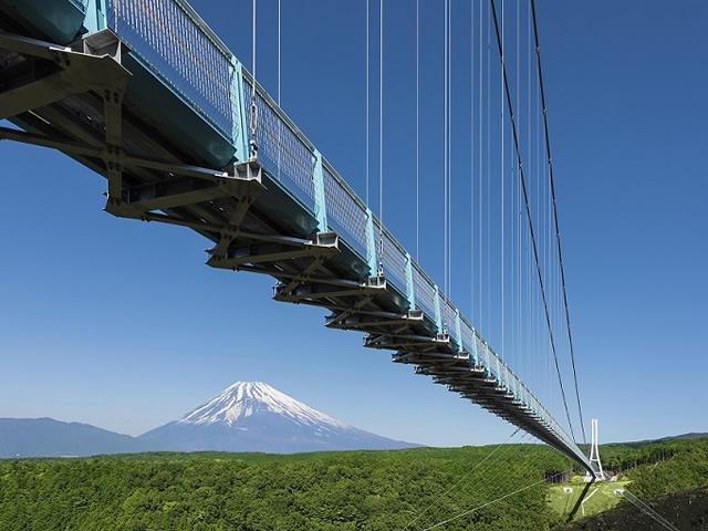 画像:日本一の吊橋「三島スカイウォーク」