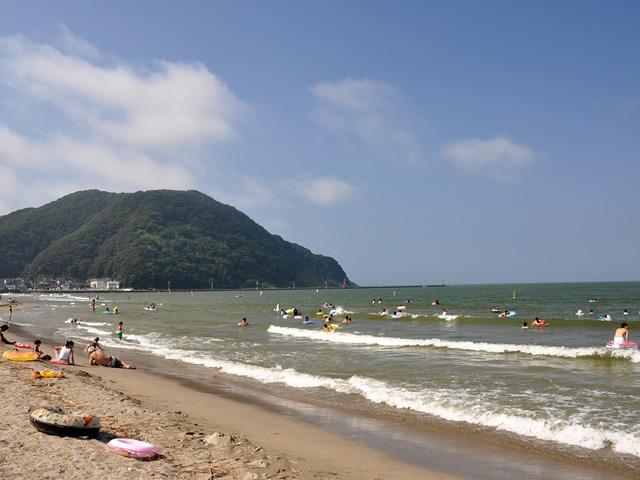画像:気比の浜海水浴場