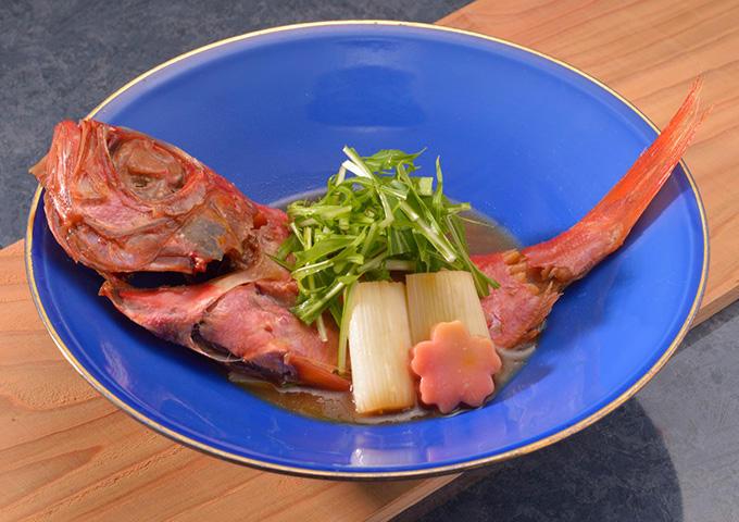 画像:金目鯛の煮付(イメージ)