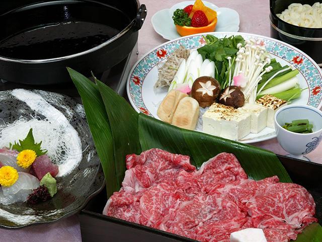 画像:近江牛すきやき鍋