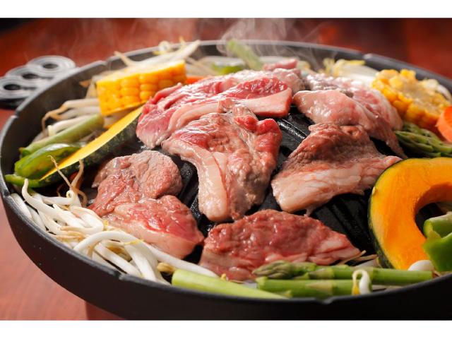 画像:ジンギスカン料理