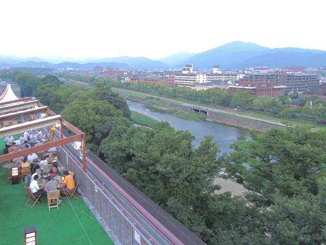 画像:屋上からの眺望