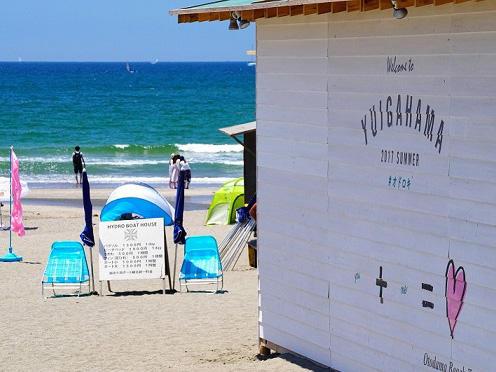 画像:由比ガ浜ビーチ