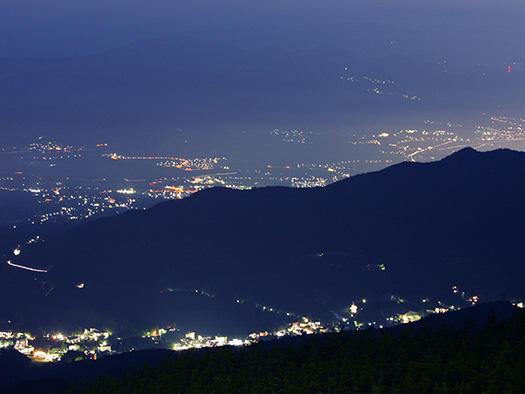 画像:蔵王夜景