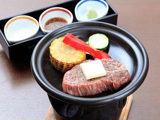 画像:足柄牛ステーキ