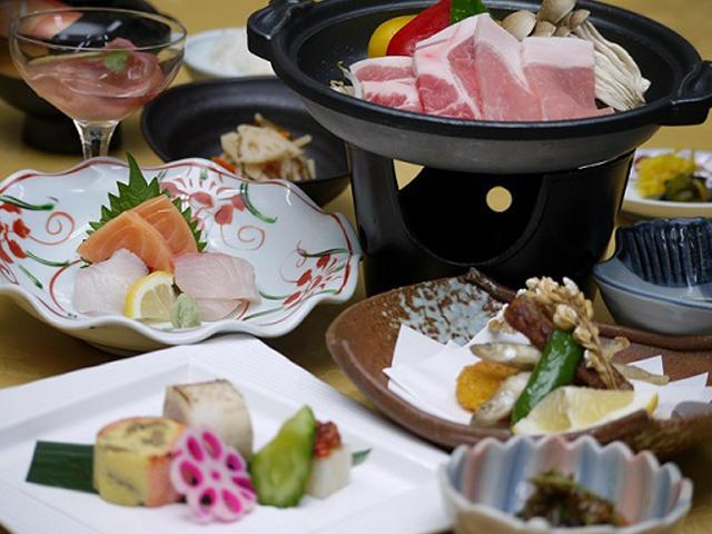 画像:日替わりの和食膳(一例)