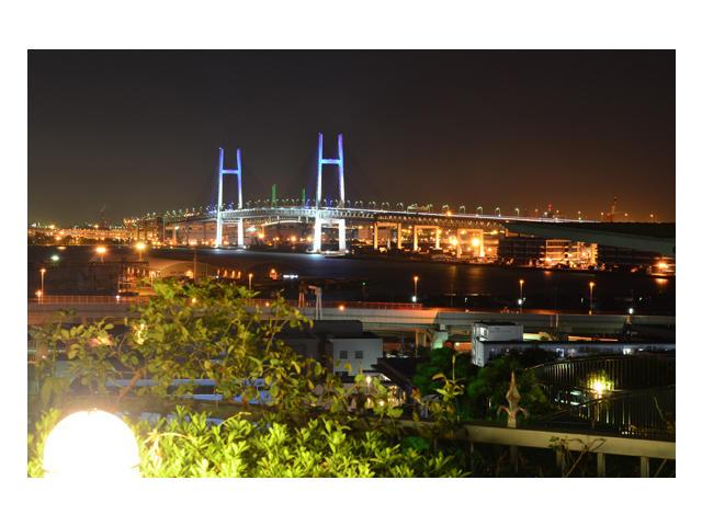 画像:ホテルからの夜景