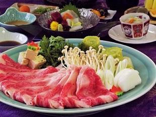 画像:松阪牛すき焼き