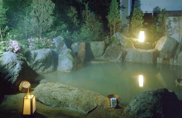 画像:露天風呂