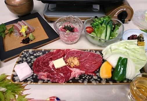 画像:国産牛ステーキ