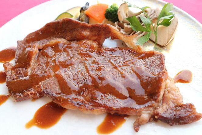 画像:やまゆり牛のステーキ