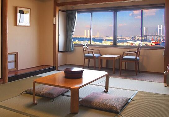 画像:海側和室
