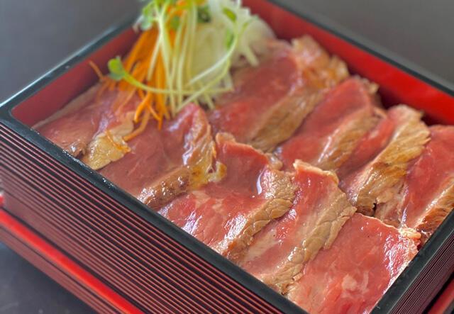 画像:神奈川県産やまゆり牛ステーキ重