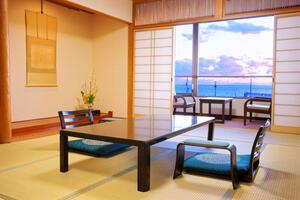 画像:海の見える和室