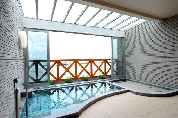 画像:1階 展望温泉